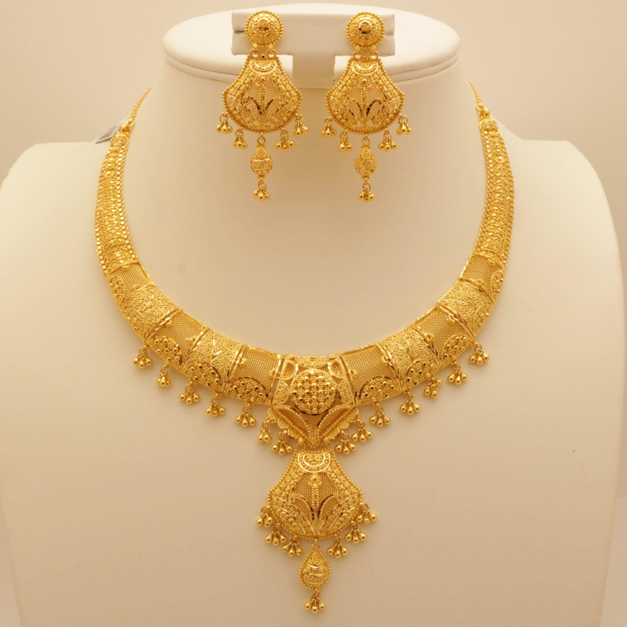 emboss attigai design jewelsmart necklace plated indian immitation south jewellery gold