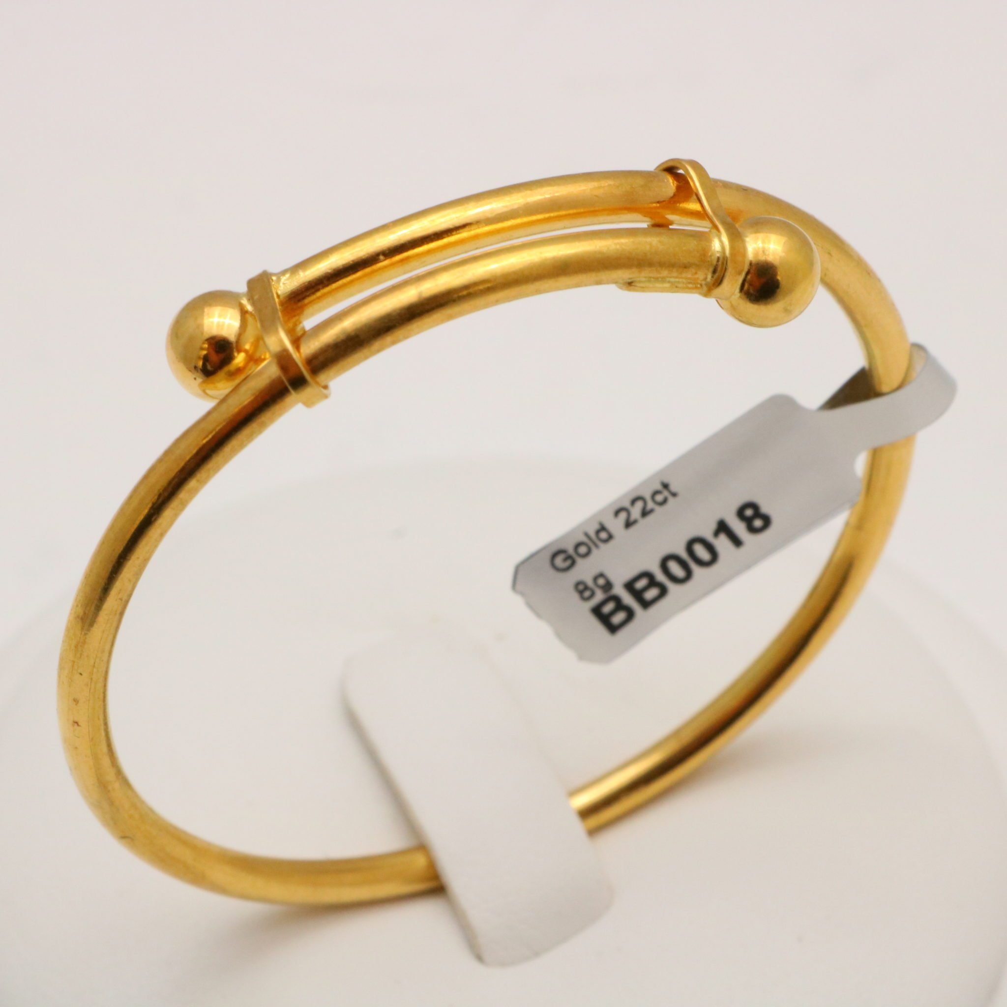 style jewelry item girls infant color bangle baby gift lucky in classic from newborn gold adjustable bangles for plated tengyi fashion